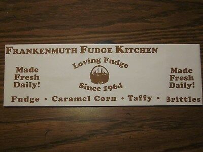 Frankenmuth Fudge Kitchen Soda Jerk Paper Hat-Brand New