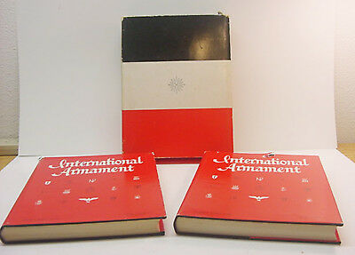 INTERNATIONAL ARMAMENT Vols 1 & 2 HB/DJ in Slip Case 1965 1st Edition