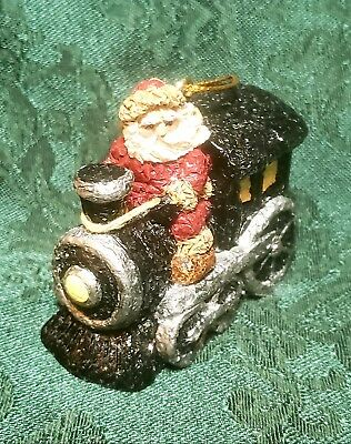 """Santa Train Collectible Ornament """"From A Nickle To A Belsnickle"""" 2000 ❤️"""