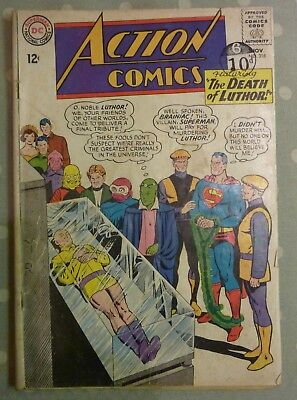 Action Comics 318 Superman Silver Age 1964 DC G+/VG- Condition