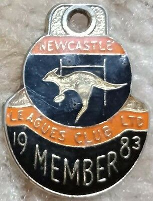 Newcastle Rugby League Club Badge 1983