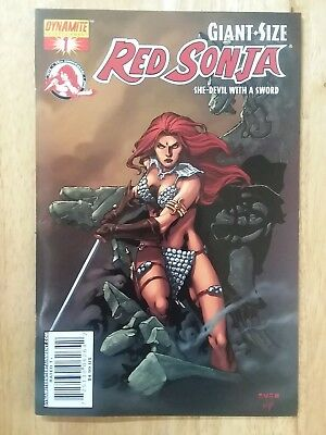 Giant Size Red Sonja She Devil With A Sword #1  Variant Cover (Dynamite) Nm