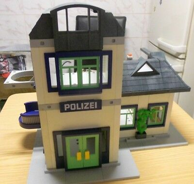 Playmobil Polizeistation 3988 mit Knast