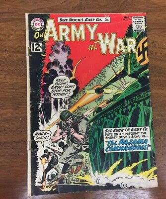 OUR ARMY AT WAR No 122 September 1962 National Periodical Comic Book