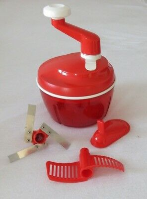 TUPPERWARE Quick-Chef 3 - rot - NEU