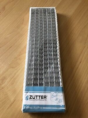 "Zutter Bind-It-All OWire/Bindedraht - 3/8"" - silber - Scrapbooking"
