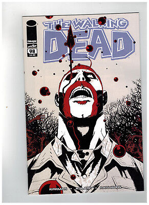 THE WALKING DEAD #98  15th Anniversary - Color Variant       / 2018 Image Comics