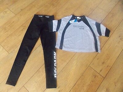 Girls Adidas Originals Ivy Park T-Shirt Leggings Age 14-15 Years New With Tags