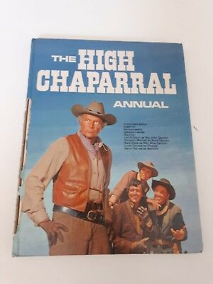 The High Chaparral Annual vintage cowboy book