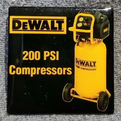 LMH PINBACK Pin DeWALT Tools 200 PSI Air Compressors HOME DEPOT Employee Apron