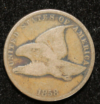 1858 Flying Eagle Cent (Small Letters)