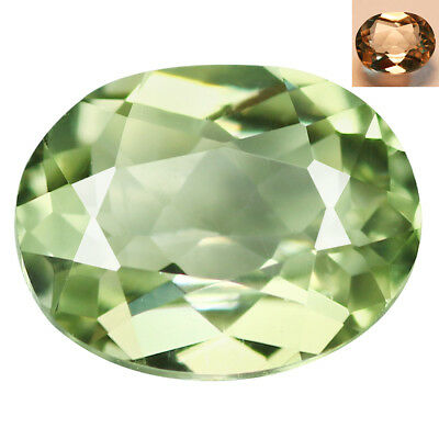 0.80Ct IF Splendid Oval Cut 7 x 5 mm AAA Color Change Turkish Diaspore