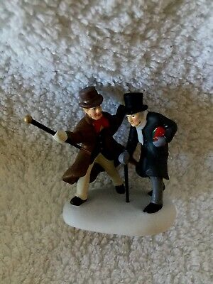"""Dept. 56 Dickens' Village Series """"christmas A Humbug, Uncle"""""""
