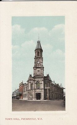 Australia: Western - Freemantle, Town Hall  By Falk & Co