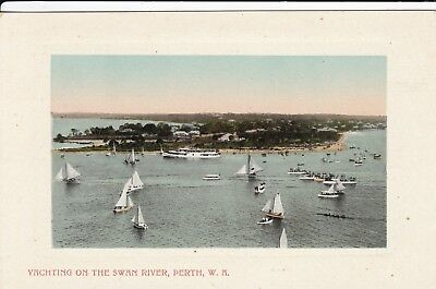 Australia: Western - Perth, Yachting On The Swan River By Falk & Co