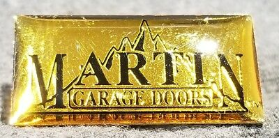 LMH PINBACK Pin MARTIN GARAGE DOORS Door Openers HOME DEPOT Employee Trained
