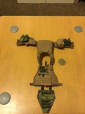 1/6 Scale Tactical Plate Vest With Pouches