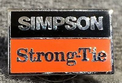LMH PINBACK Pin SIMPSON STRONG TIE Joist Hangers Anchors HOME DEPOT Employee