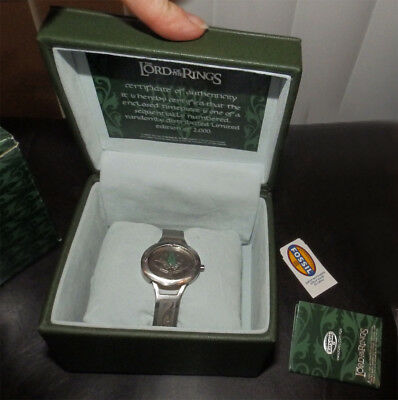 Fossil Limited Ed Lord of the Rings Lorien Watch LI-2504 #0772/2000 LOTR