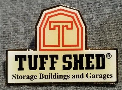 LMH PINBACK Pin TUFF SHED Storage Building Garages HOME DEPOT Employee Trained