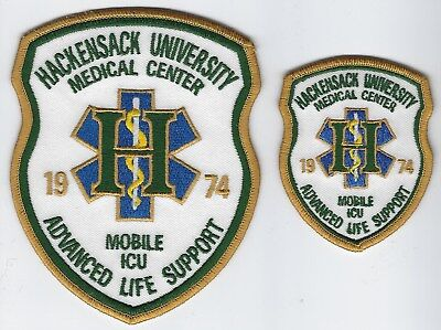 **2 Hackensack University New Jersey Medical Center Mobile Icu Fire Patch**