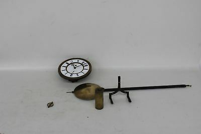 Replacement Vintage Grandfather Longcase Clock Golden Spare Parts With Weight
