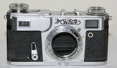 Kiev 4a Type 2 Contax IIa Copy 1974-1980 USSR Body Only AS IS