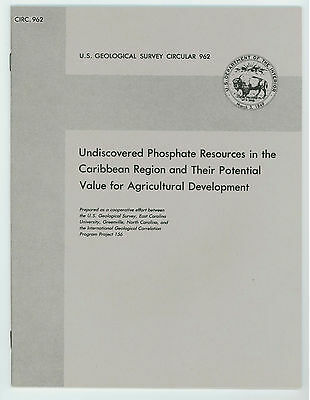Books on Phosphate Resources, by US Geological Survey (3 USGS  paperbacks)
