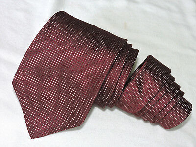 "Valentino Men's Tie Red/polka Dot 3.5/8"" 62"" Italy"