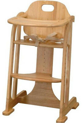 East Coast Multi-Height, Solid Wood, Highchair - Junior Chair