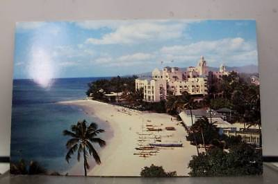 Hawaii HI Waikiki Royal Hawaiian Hotel South Sea Island Postcard Old Vintage PC