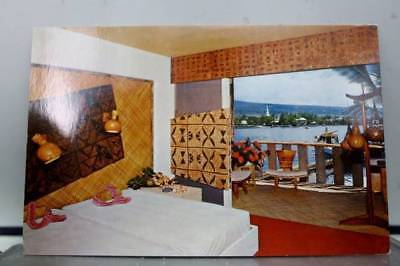 Hawaii HI Kona Coast Hotel King Kamehameha Postcard Old Vintage Card View Post
