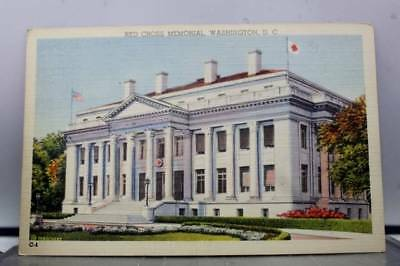 Washington DC Red Cross Memorial Postcard Old Vintage Card View Standard Post PC