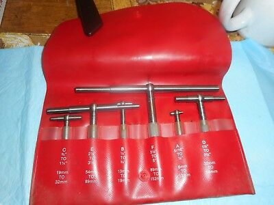 STARRETT telescoping gages in box SET in case