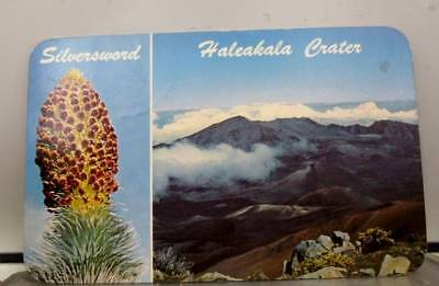 Hawaii HI Haleakala Crater Postcard Old Vintage Card View Standard Souvenir Post
