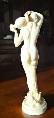 Vintage ~ Santini Style Nude Carrying Water Vase ~ Gorgeous  ~ Clearance  !!