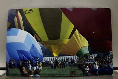 Scenic Hot Air Balloon Postcard Old Vintage Card View Standard Souvenir Postal