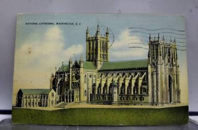 Washington DC National Cathedral Postcard Old Vintage Card View Standard Post PC
