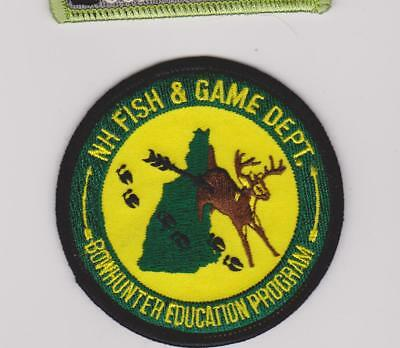 New Hampshire Fish & Game Bowhunter Education Program Game Warden Police Patch