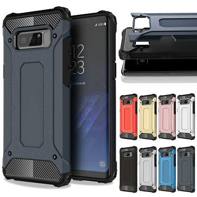 Heavy Duty Shockproof Rugged Hard Case Cover For Samsung Galaxy Note 9 8 5 4