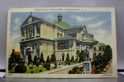 Washington DC Franciscan Monastery Postcard Old Vintage Card View Standard Post