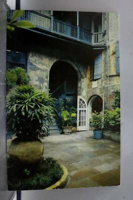 Louisiana LA New Orleans Brulatour Courtyard Postcard Old Vintage Card View Post