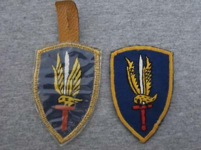2 Original Wartime Vietnamese Hand Made US Army 1st Aviation Brigade Patches