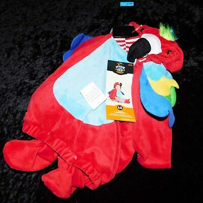 Hyde and Eek Infant/Toddler Colorful Parrot Halloween Costume (SIZE 6-12 Months)