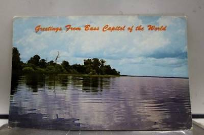 Scenic Bass Capitol Of the World Postcard Old Vintage Card View Standard Post PC