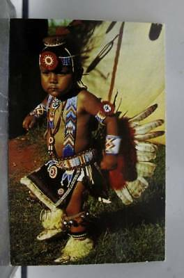 Scenic Pawnee Otoe Indian Postcard Old Vintage Card View Standard Souvenir Post