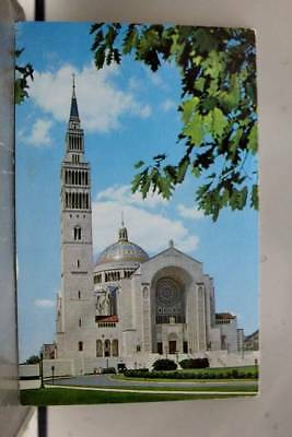 Washington DC National Shrine of Immaculate Conception Postcard Old Vintage Card