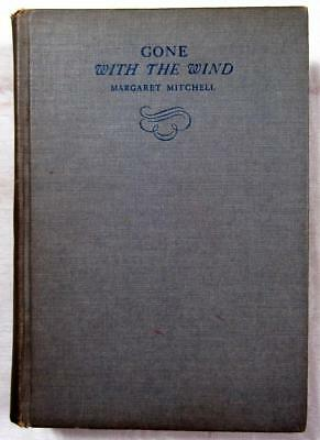1936 GONE WITH THE WIND – Margaret Mitchell – Not 1st Ed. But Printed Same Year