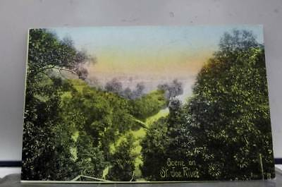 Scenic St Joe River Postcard Old Vintage Card View Standard Souvenir Postal Post