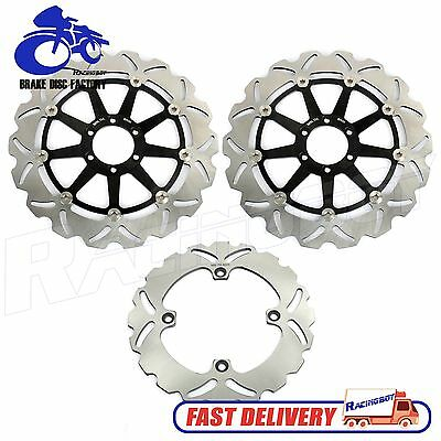 Ducati  Front Rear Brake Rotors Discs Set 748 916 996 998 R S SP SPS BIPOSTO